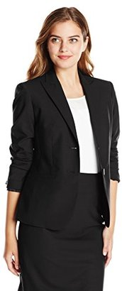 Jones New York Women's Washable Wool-Blend Jacket $77.41 thestylecure.com