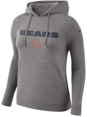 Nike Women Chicago Bears Club Pullover Hoodie