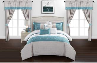 Chic Home Sonita 20-Pc Queen Comforter Set Bedding