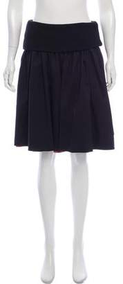 Marc by Marc Jacobs Flared Knee-Length Skirt