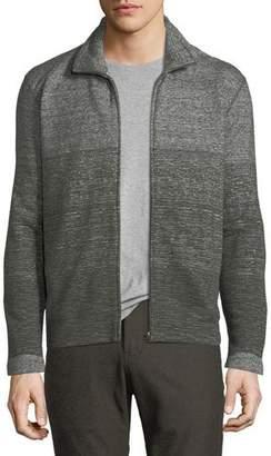 Billy Reid Gradient Cotton Track Jacket
