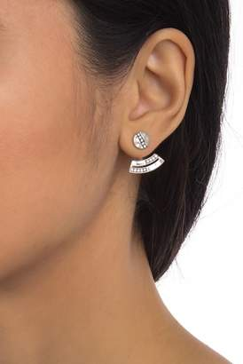 Ippolita Sterling Silver Round Arc Disc Ear Jackets