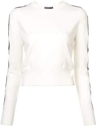 Alexander McQueen cut-out sleeves sweater