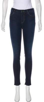 Prada Mid-Rise Skinny Jeans