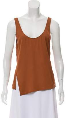 Theory Scoop Neck Sleeveless Blouse