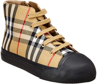 Burberry Leather Trainer Sneaker