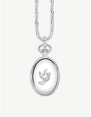 Thomas Sabo Dove sterling silver locket necklace