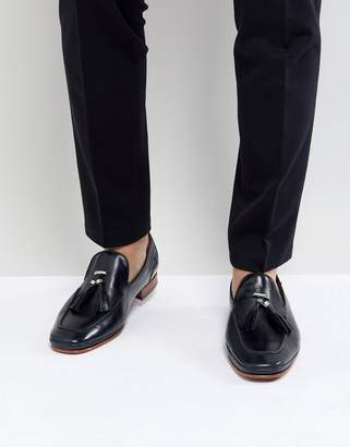 Jeffery West Martini Tassel Loafers In Blue