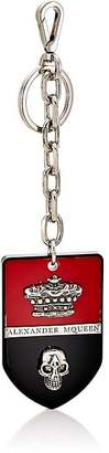 Alexander McQueen Men's Shield Key Chain $395 thestylecure.com