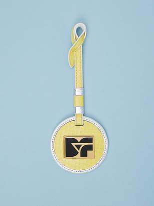 Diane von Furstenberg Monogram Circle Charm