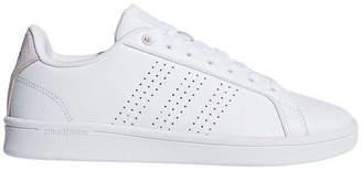 adidas Cloudfoam Advantage Womens Casual Shoes White / Pink US 7