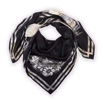 Coleman Louise Egret Twilight Silk Scarf