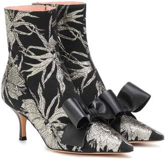 Rochas Brocade ankle boots