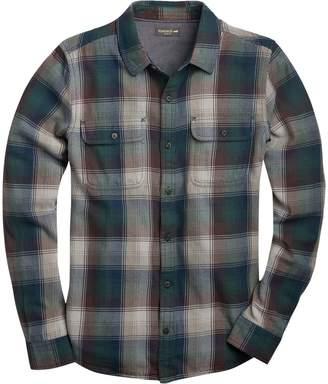 Toad&Co Indigo Flannel Slim Long-Sleeve Shirt - Men's