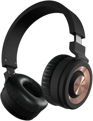 Sharper Image Black & Rose Gold High Performance Wireless Headphones