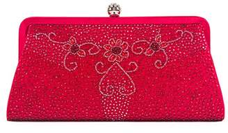Farfalla Womens 90461 Clutch Red