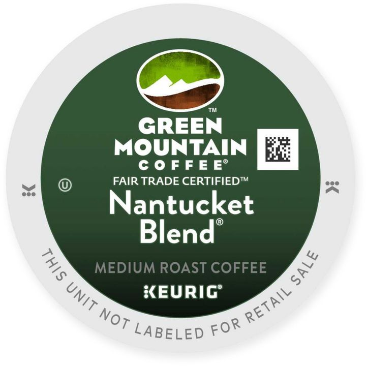 K-Cup® 72-Count Green Mountain Coffee® Nantucket Blend Value Pack for Keurig® Brewers