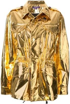 Ralph Lauren structured shirt jacket