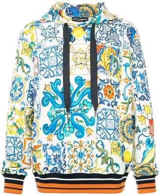 Dolce & Gabbana Sicilian print hoodie