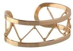 BCBGeneration Chains Crystal Cuff Bracelet