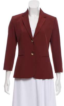 The Row Notch-Lapel Long Sleeve Blazer