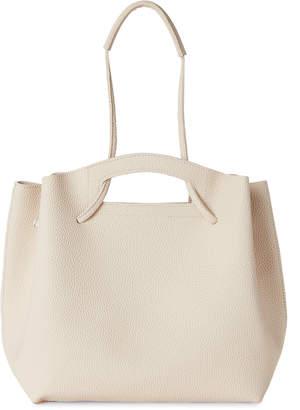 Street Level Ivory Struct Shoulder Bag