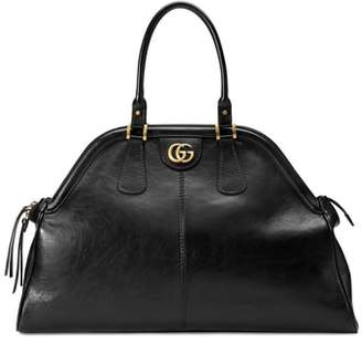 Gucci Large RE(BELLE) Leather Satchel