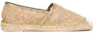 Valentino embroidered espadrilles