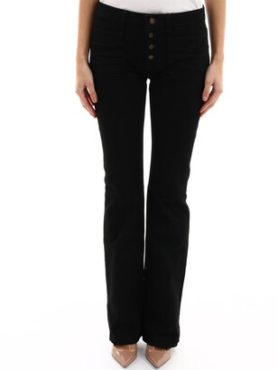 Saint Laurent Jeans Nero Con Tasche
