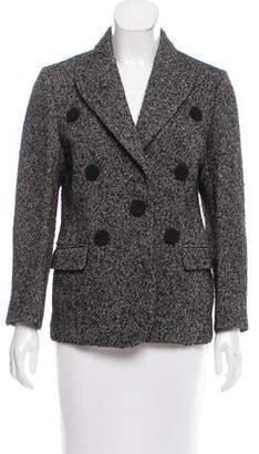 Derek Lam Tweed Structured Blazer