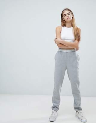 Asos DESIGN fold over waist super soft jogger