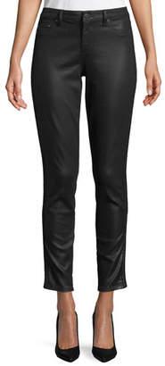 Elie Tahari Azella Coated Skinny Ankle Jeans