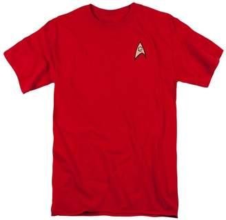 A&E Designs Star Trek ENGINEERING UNIFORM Classic Adult T-shirt Tee Shirt, XL