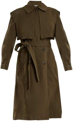 Vince Oversized tie-waist trench coat