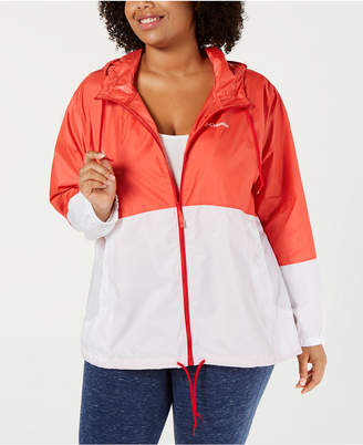 Columbia Plus Size Flash Forward Windbreaker