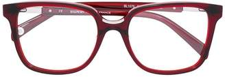 Balmain square glasses