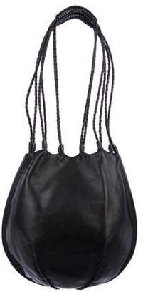 Saint Laurent Smooth Leather Shoulder Bag