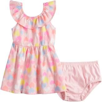 Baby Girl Jumping Beans Ruffled Skater Dress