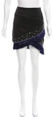 Mark & James by Badgley Mischka by Badgley Mischka Embellished Mini Skirt w/ Tags