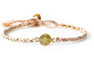 The Brave Collection Women's Woven Compass Bracelet