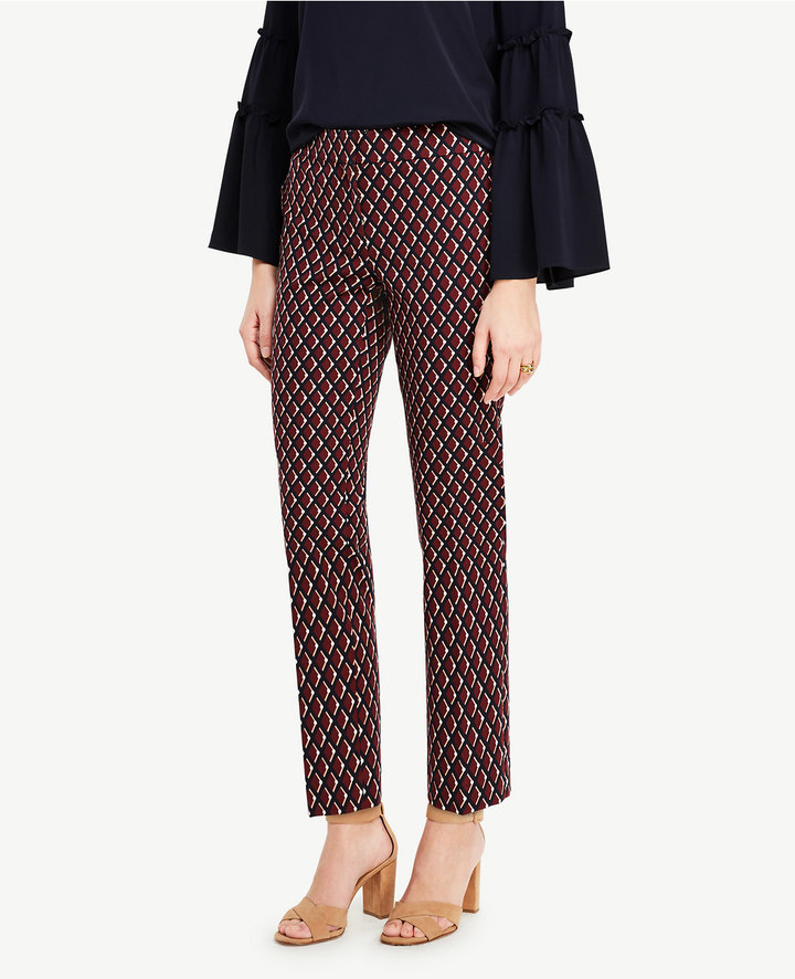 Ann TaylorThe Petite Ankle Pant in Diamonds - Kate Fit