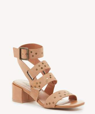 Sole Society Seabring Mid Heel Gladiator Sandal