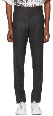 Prada Grey Classic Chino Trousers