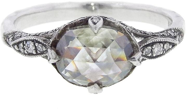 Cathy Waterman moghul diamond ring