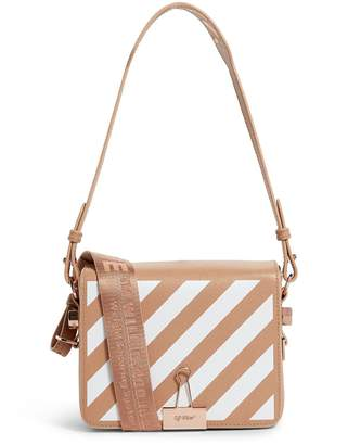 Off-White Off White Small Leather Binder Clip Cross Body Bag