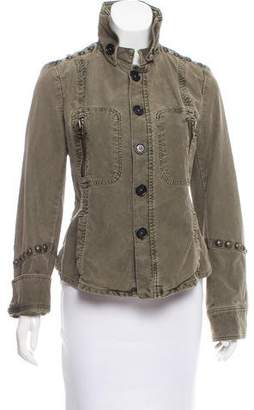 Zadig & Voltaire Studded Utility Jacket