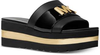 Michael Kors Brady Platform Slide Sandals