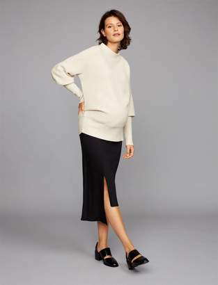 A Pea in the Pod Full Belly Cascade Maternity Skirt