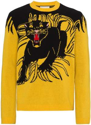 Gucci GG Panther Sweater