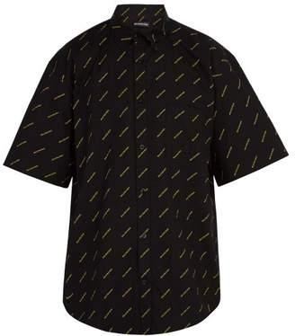 Balenciaga Logo-print short-sleeve shirt
